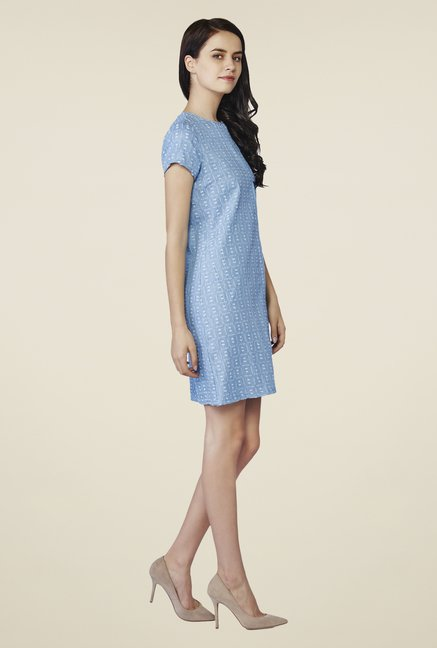 AND Blue Donna Denim Tunic
