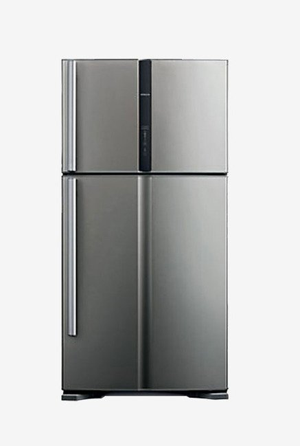 Hitachi R-V540PND3KX 489L Side By Side Refrigerator (Grey)