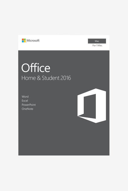 Microsoft Office Home & Student 2016 P2 for Mac with One Drive