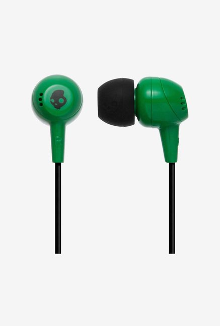 Skullcandy Jib S2DUDZ-023 Earphones (Black & Green)