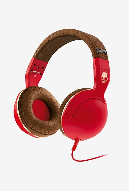 Skullcandy Hesh 2 S6HSFY-059 Headphones with Mic(Red)
