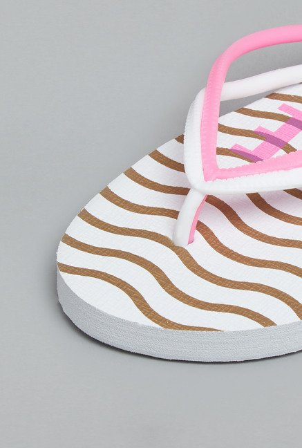 Head Over Heels Pink Thong Flip Flops