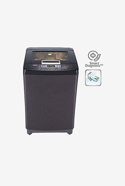 LG T8067TEELK 7 kg Fully Automatic Washing Machine (Black)