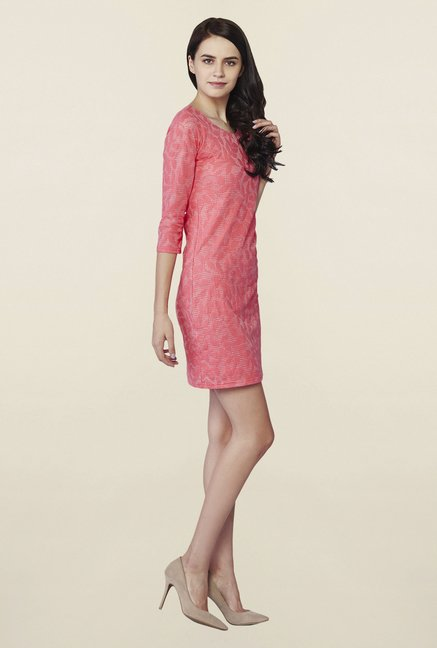 AND Pink Rouge Sheath Dress