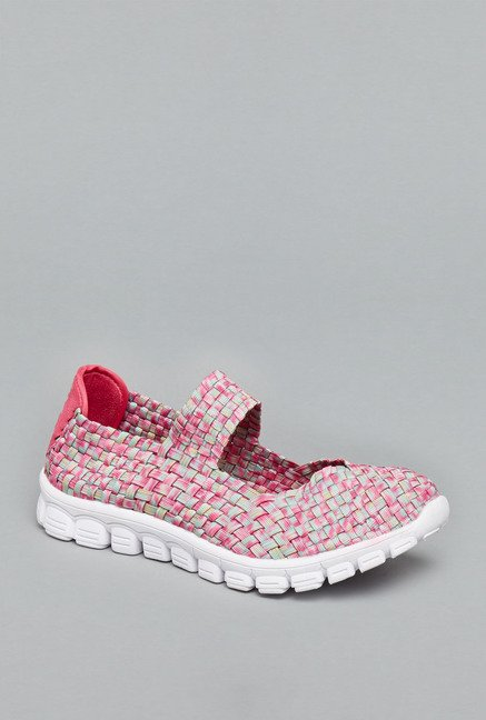 Head Over Heels Pink Slip On Shoes