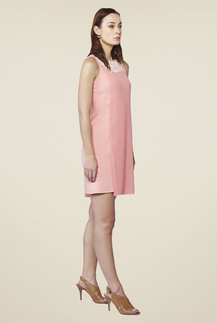 AND Pink Blush Layered Dress