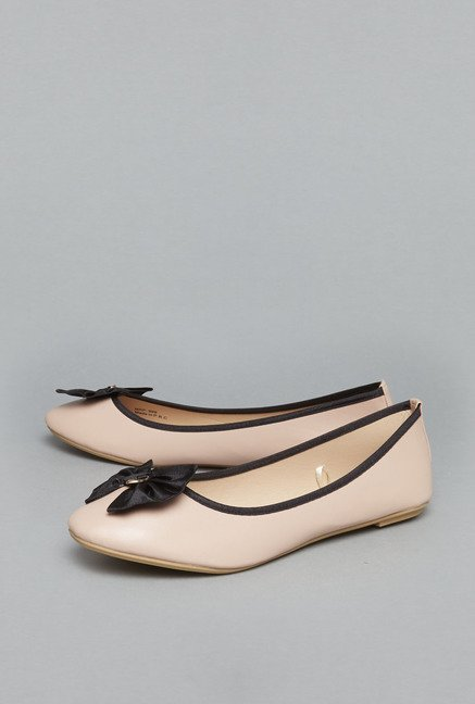 Head Over Heels Nude Ballet Flats