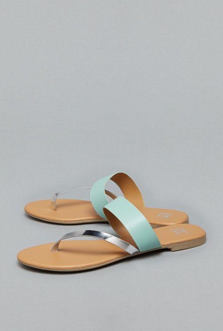 Head Over Heels Mint Flat Sandals