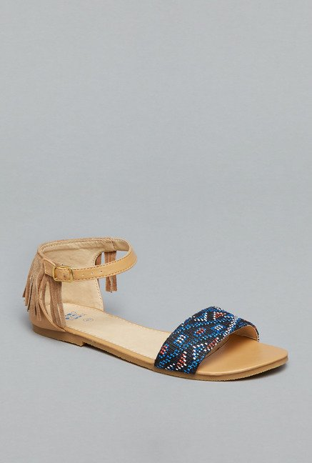 Head Over Heels Navy Gladiator Sandals