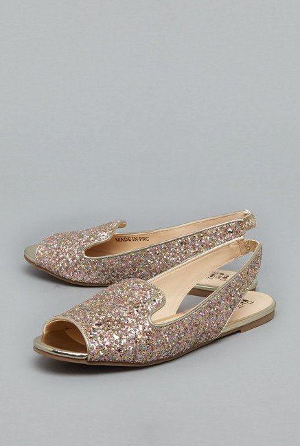 Head Over Heels Pink Slingback Shoes