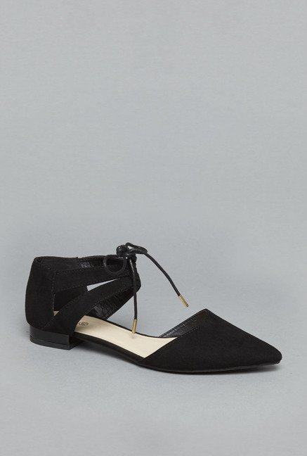 Head Over Heels Black Ballet Flats
