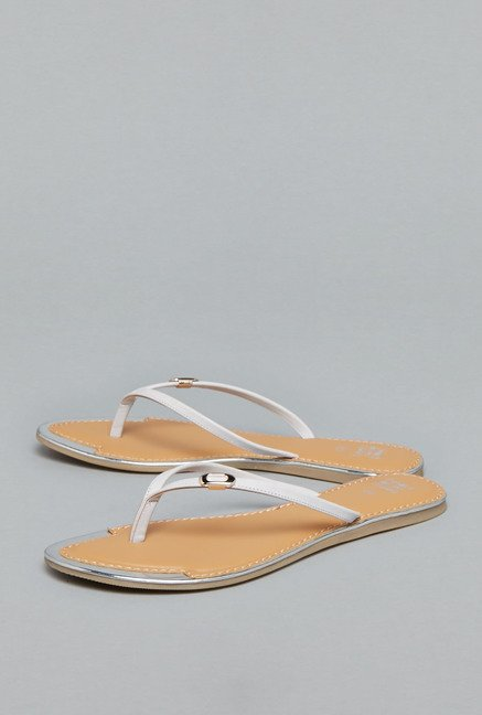 Head Over Heels Lilac Thong Sandals