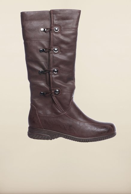Pavers England Brown Cowboy Boots