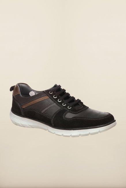 Pavers England Black Casual Sneakers