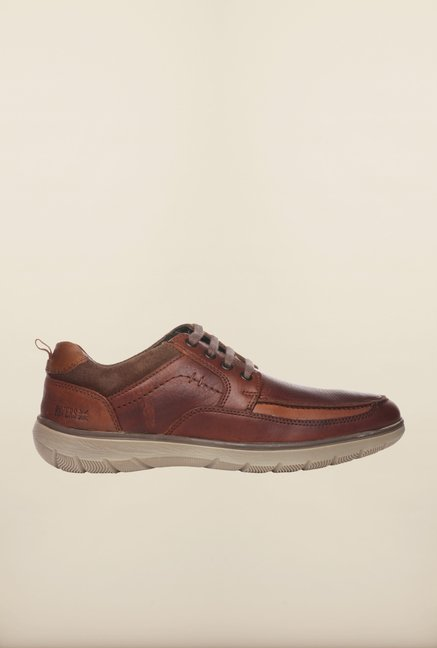 Pavers England Brown Casual Sneakers