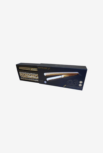 Corioliss C3 Professional Hair Straightener (Gold Leopard)
