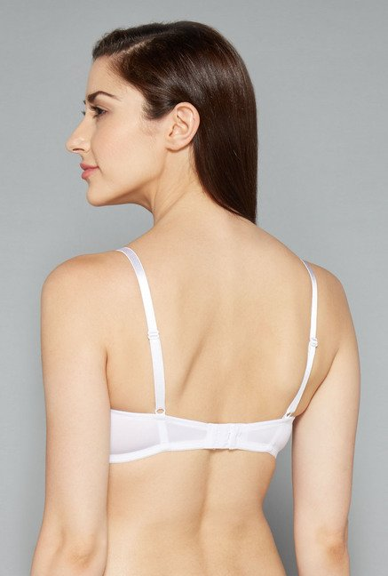 Wunderlove White Non Wired Padded Bra