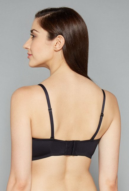 Wunderlove Black Under Wired Padded Bra