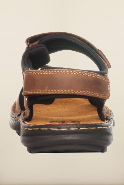 Pavers England Brown Floater Sandals