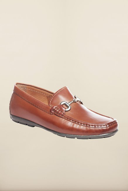 Pavers England Tan Casual Loafers