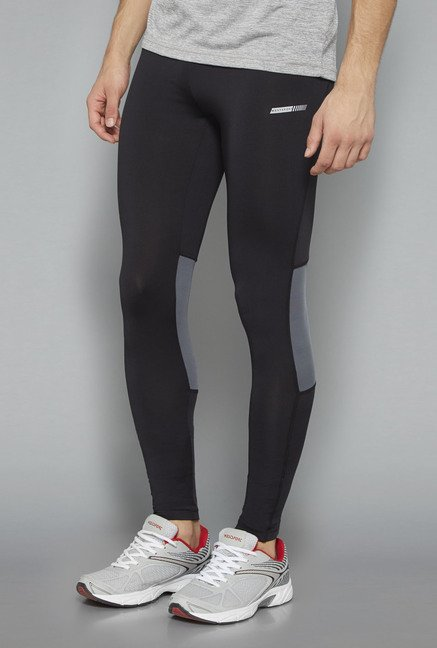 Westsport Black Solid Skinny Fit Trackpant