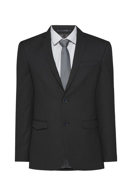 Weststreet Black Slim Fit Blazer