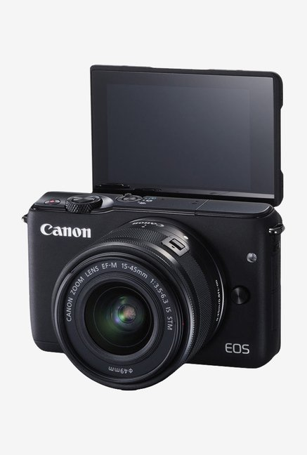 Canon EOS M10 with (EF-M15-45mm Lens) Mirrorless Camera