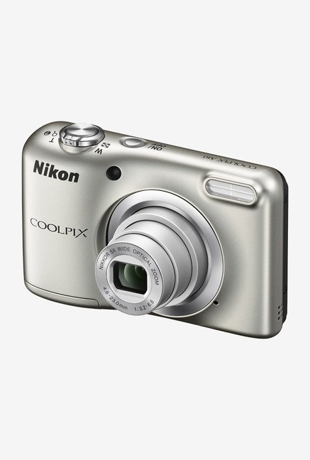 Nikon Coolpix A10 Point and Shoot Camera (Silver)