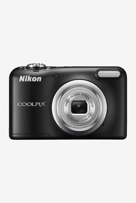 Nikon Coolpix A10 Point and Shoot Camera (Black)