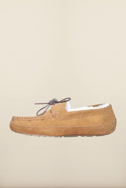 Pavers England Camel Casual Moccasins