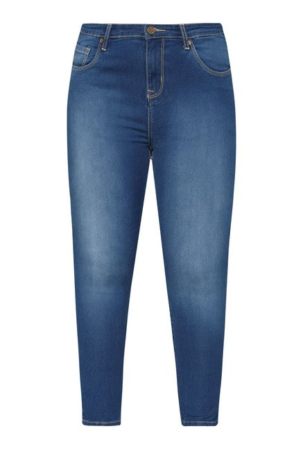 Sassy Soda Dark Blue Slim Fit Jeans