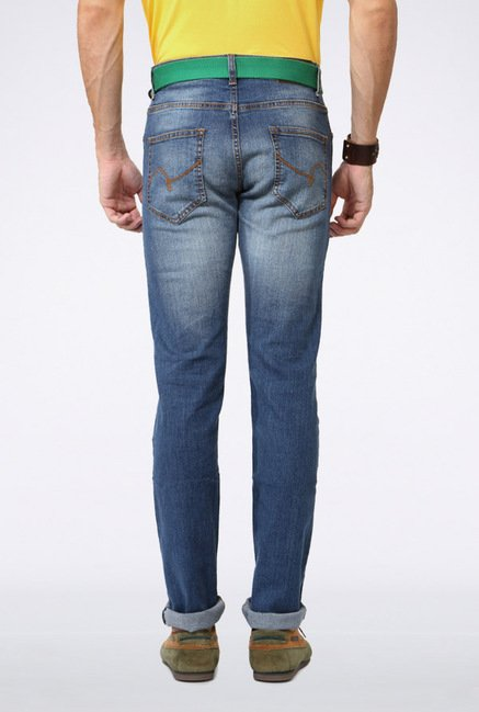 People Blue Slim Fit Jeans