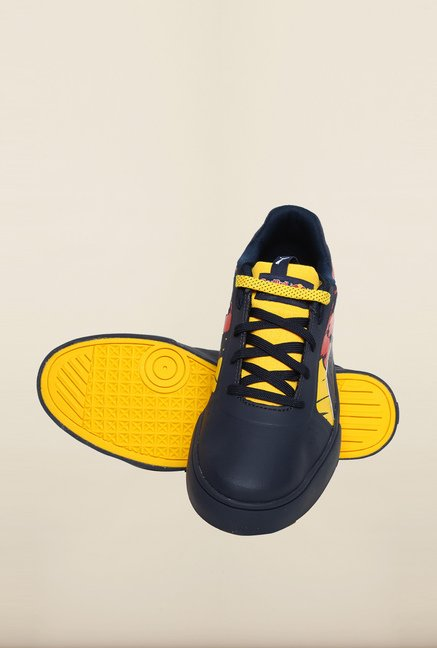 Puma Red Bull Navy & Spectra Yellow Sneakers