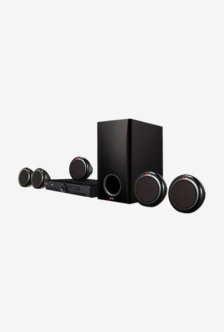 LG DH3140S 300W 5.1 Ch DVD Home Cinema System Black