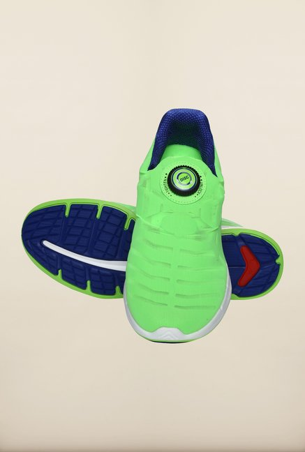 Puma Ignite Green Gecko Slip-On Shoes