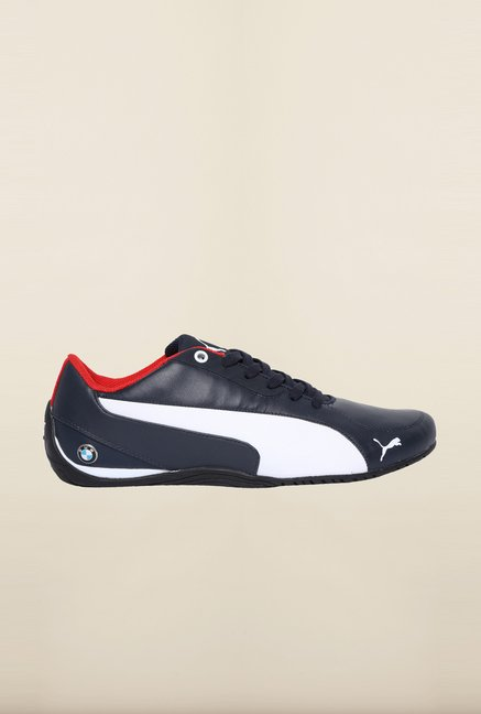 Puma BMW Team Blue & White Sneakers