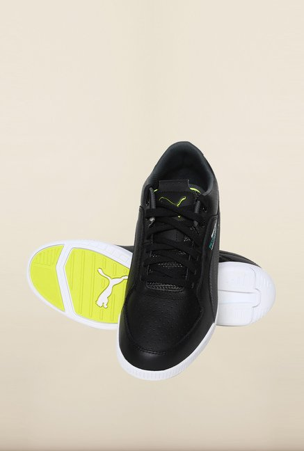 Puma Mercedes AMG Petronas Black & Dark Shadow Sneakers