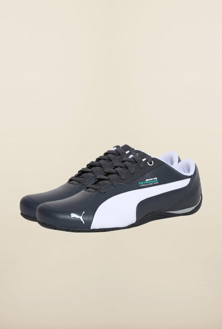 cd8c547e5b1 Buy Puma Mercedes AMG Petronas Navy   White Sneakers Online at best price  at TataCLiQ