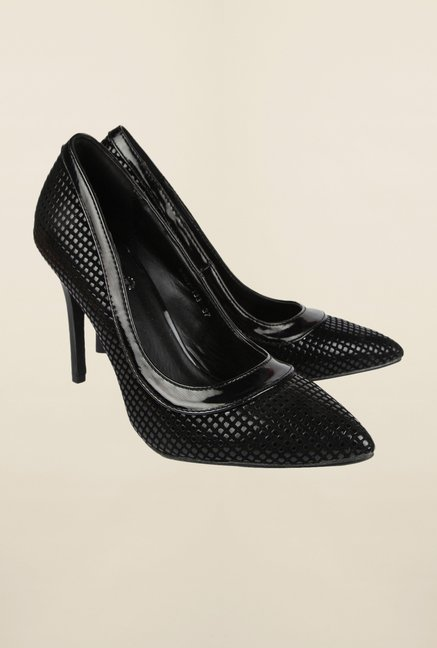 Cobblerz Black Stiletto Shoes