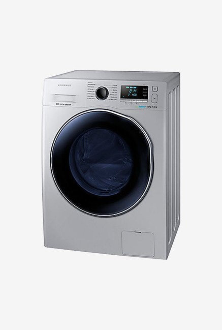 Samsung WD80J6410AS/TL Front Loading Washer Dryer (Silver)