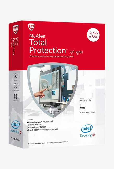 McAfee Total Protection Single User for 1 Year