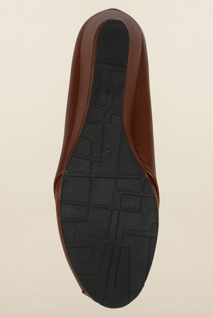 Cobblerz Chocolate Brown Wedge Shoes
