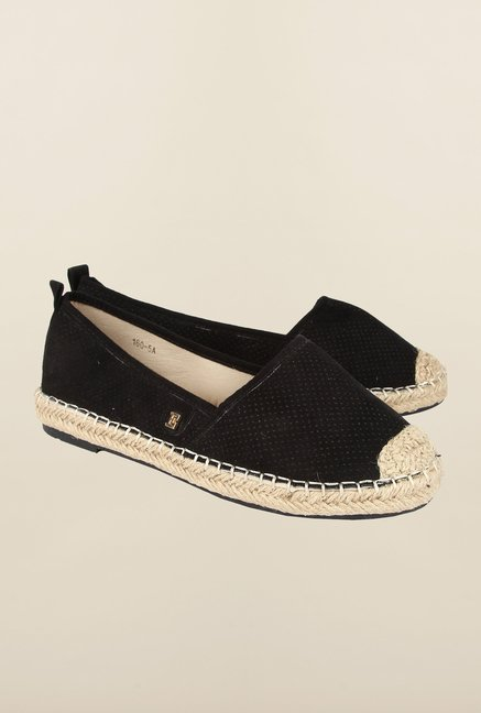 Cobblerz Black Espadrille Shoes