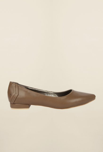 Cobblerz Brown Casual Slip-Ons