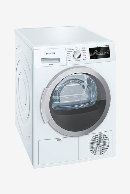 Siemens WT46G400IN iQ500 Condensation Dryer Silver