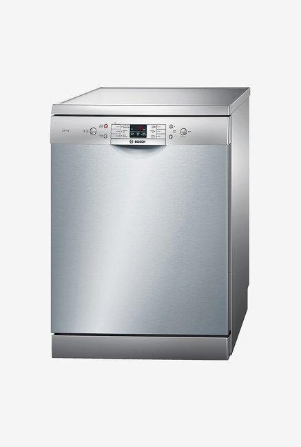 Bosch SMS60L08IN Fully Automatic Dish Washer (Sliver Inox)