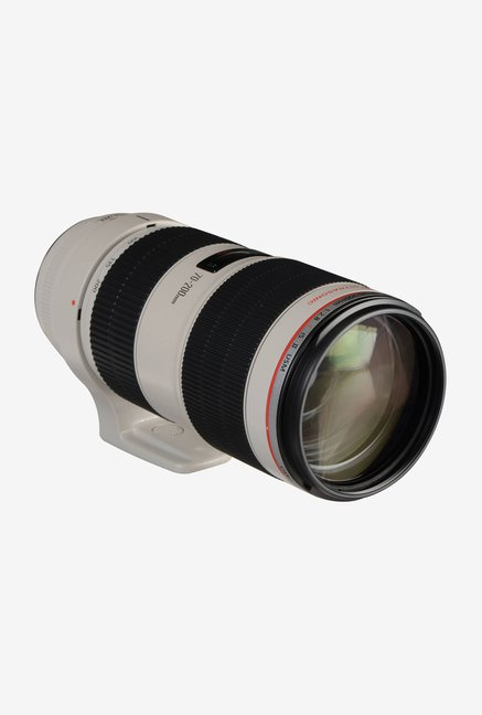 Canon EF 70-200mm 1:2.8L IS II USM Lens (White and Black)