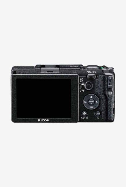 RICOH GR II Point & Shoot Camera (Black)