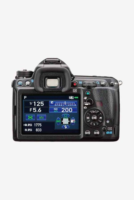 Pentax K-3II DSLR Camera (Body Only) Black