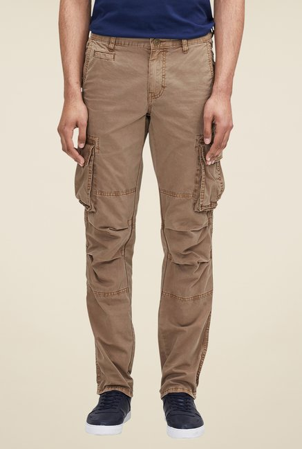 s.Oliver Brown Solid Cargos